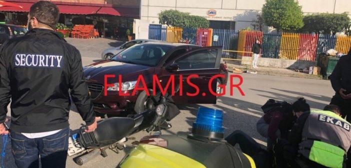 Πάτρα: Εκσφενδονίστηκε οδηγός μηχανής μετά από σύγκρουση με ταξί