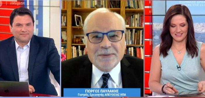 Παυλάκης: Θα πληρώσουμε το άνοιγμα της κοινωνίας με χιλιάδες νεκρούς – Φόβος για τον συνωστισμό