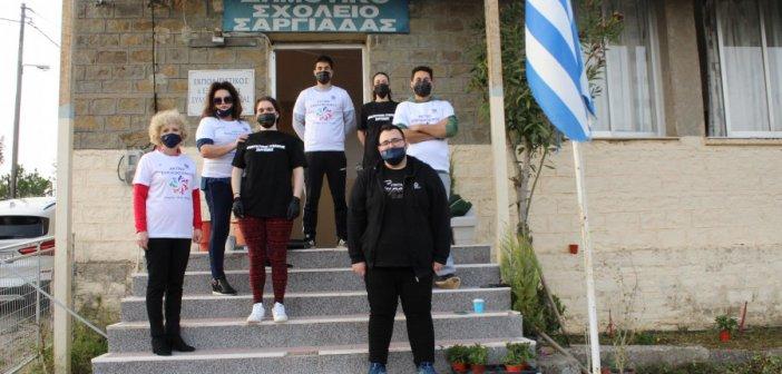Δράσεις από τον Πολιτιστικό Σύλλογο Σαργιάδας σε συνεργασία με την Ακτίνα Εθελοντισμού του Δήμου Αγρινίου (pics)