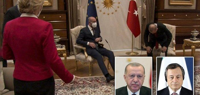 Sofagate: Διπλωματικό επεισόδιο Ιταλίας-Τουρκίας