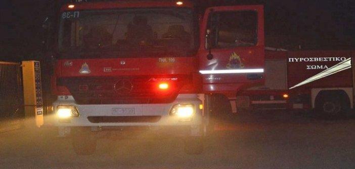 Αγρίνιο: Πυρκαγιά σε διαμέρισμα τα ξημερώματα