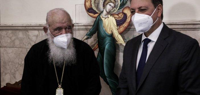 Η ελληνική διατροφή στο επίκεντρο της συνάντησης Αρχιεπισκόπου κ.κ. Ιερωνύμου με τον κ. Σπήλιο Λιβανό