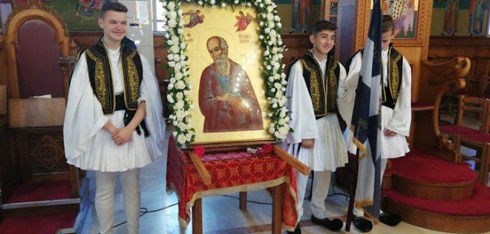 Με λαμπρότητα και με κάθε επισημότητα γιορτάστηκε ο Άγιος Ιωάννης ο Θεολόγος στο Μοναστηράκι Ξηρομέρου
