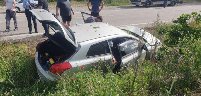 Αγρίνιο: Αυτοκίνητο κατέληξε σε αύλακα στη Στράτο – Ηλικιωμένη γυναίκα στο νοσοκομείο (εικόνες)
