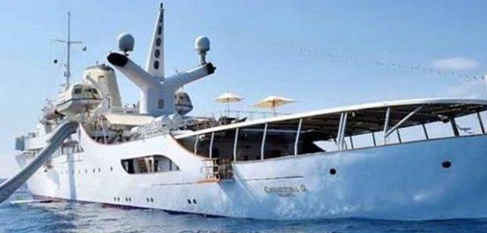 Christina O – Το πλωτό παλάτι του Ωνάση νοικιάζεται για 630.000 ευρώ την εβδομάδα