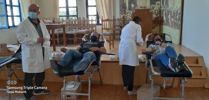 Αγρίνιο: Σε εξέλιξη εθελοντική αιμοδοσία στην πλατεία του Αγίου Κωνσταντίνου