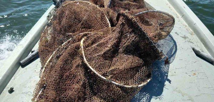Αγία Τριάδα Αιτωλικού: Εντοπίστηκαν παράνομα αλιευτικά εργαλεία στη λιμνοθάλασσα