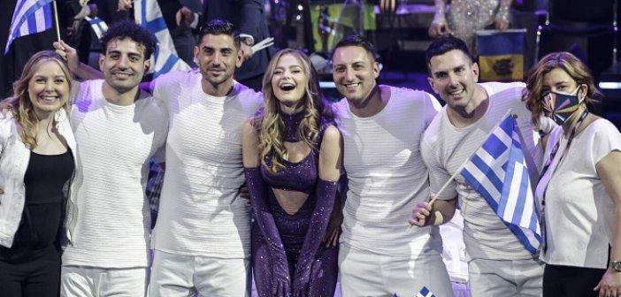 Eurovision 2021: Στη 10η θέση η Ελλάδα – Νικήτρια η Ιταλία
