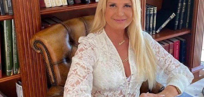 Μαρίνα Πατούλη: Βρέθηκε θετική στον κορονοϊό και καταγγέλλει ότι της πρότειναν να το αποσιωπήσει