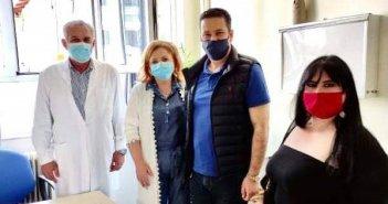 Έκανε το εμβόλιο ο Δήμαρχος Αγρινίου Γιώργος Παπαναστασίου (ΦΩΤΟ)