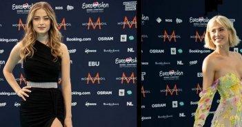 Eurovision Tirquoise Carpet: Ποιοι Έλληνες σχεδιαστές έντυσαν τις τραγουδίστριες Ελλάδας και Κύπρου;