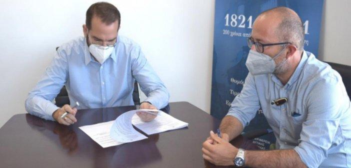 Αιτωλοακαρνανία: Εργασίες συντήρησης σήμανσης και ασφάλισης του εθνικού οδικού δικτύου