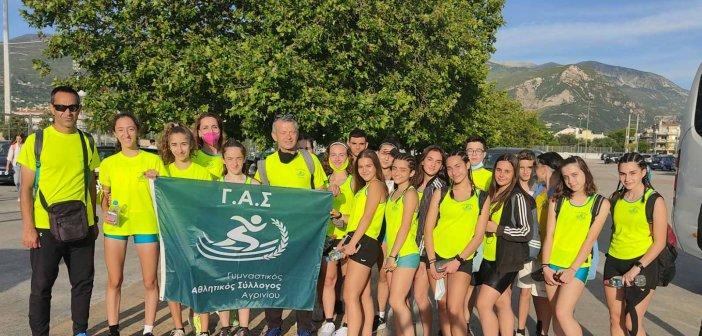 Έλαμψαν οι μικροί αθλητές και αθλήτριες του ΓΑΣ Αγρινίου στο Διασυλλογικό Πρωτάθλημα Κ16