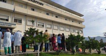 Δώστε λύση επιτέλους-Σχεδόν τέσσερις ώρες περίμεναν χθες στο Νοσοκομείο Μεσολογγίου για να εμβολιαστούν