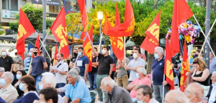 """Αγρίνιο – ΚΚΕ – Ν. Παπαναστάσης: """"Να μην περάσει το αντεργατικό έκτρωμα"""""""