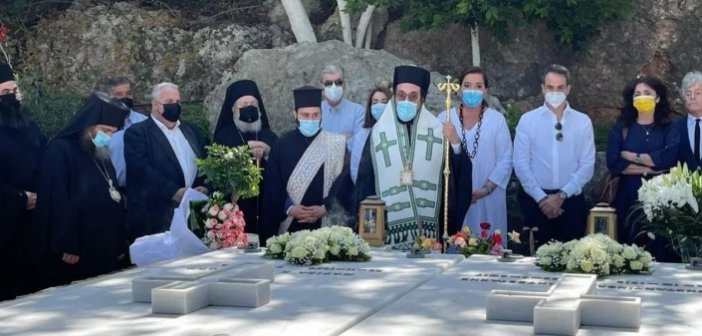 Παρουσία του πρωθυπουργού το μνημόσυνο για τα τέσσερα χρόνια από τον θάνατο του Κωνσταντίνου Μητσοτάκη στα Χανιά
