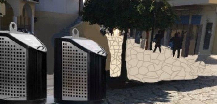 Ναύπακτος: Υπογειοποιούνται οι κάδοι με χρηματοδότηση από το Πράσινο Ταμείο
