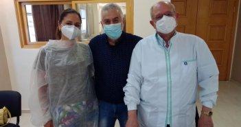 Νοσοκομείο Μεσολογγίου: Η πρώτη εθελοντική συνεισφορά του Ιατρικού Συλλόγου στους εμβολιασμούς