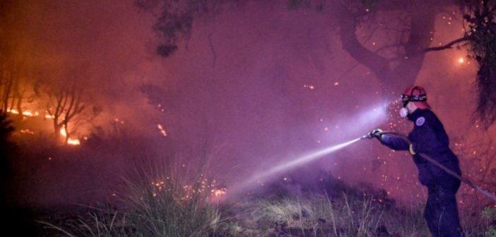 Φωτιά στην Κορινθία – Αρχηγός Πυροσβεστικής: Ποτέ τέτοια φωτιά δεν έσβησε σε 3 μέρες