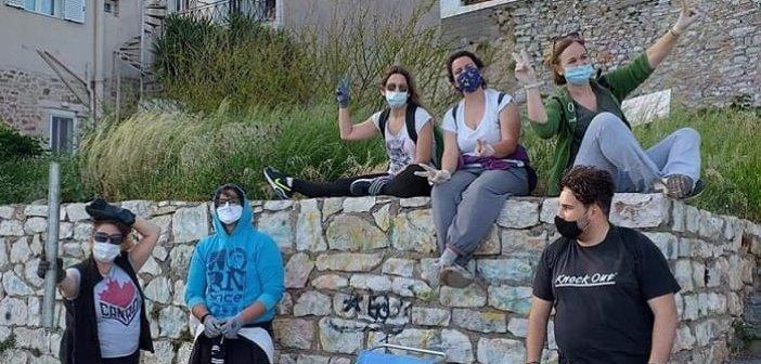 Save Your Hood – Ναύπακτος: Η εθελοντική ομάδα που μάζεψε 11 σακούλες σκουπιδιών από το Γρίμποβο (ΦΩΤΟ)