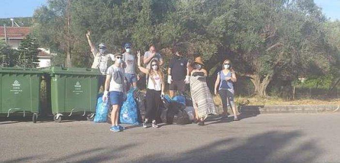 Η δράση καθαρισμού των Save your hoods στο Λυγιά Ναυπάκτου