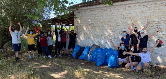 Αγρίνιο – Save Your Hood: Η εθελοντική ομάδα που μάζεψε 2.100 λίτρα σκουπιδιών στον Άγιο Ιωάννη Ριγανά (ΦΩΤΟ)