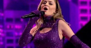 Εντυπωσιακή και στη 2η της πρόβα στη Eurovision η Στεφανία Λυμπερακάκη (εικόνες, video)