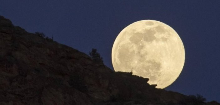 Υπερπανσέληνος και η ολική έκλειψη Σελήνης στις 26 Μαΐου