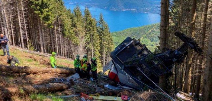 Τραγωδία στην Ιταλία: Εννέα νεκροί από πτώση καμπίνας τελεφερίκ