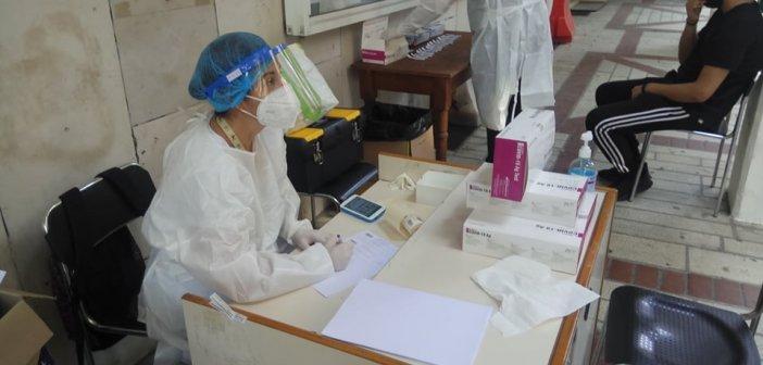 Αγ.Κωνσταντίνος Αγρινίου: Από τα 121 rapid tests που έγιναν βρέθηκαν 3 θετικά