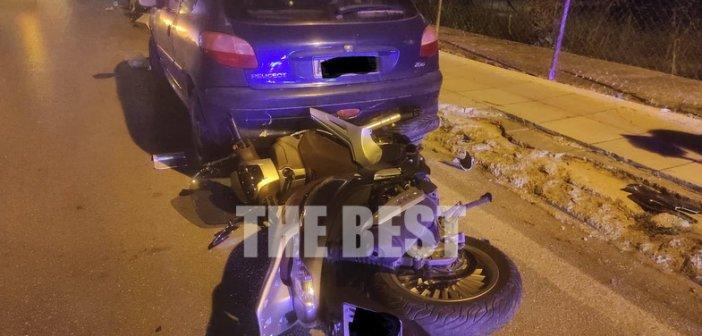 Πάτρα: Νέο σοβαρό τροχαίο με μηχανή – Στο νοσοκομείο σοβαρά τραυματισμένος νεαρός