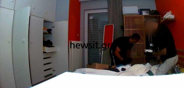 Έκαναν ένα σπίτι στο Χαλάνδρι ρημαδιό σε 98 δευτερόλεπτα – Τους έχουν on camera – Βίντεο ντοκουμέντο