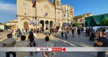 Μεσολόγγι: Ξεκίνησαν οι Αϊ Συμιώτες για το μοναστήρι (ΦΩΤΟ – VIDEO)