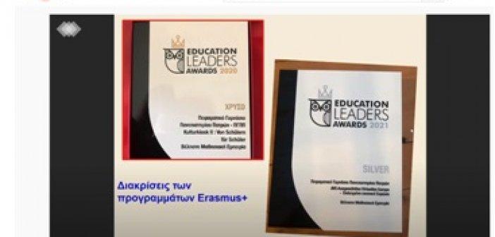 Εντυπωσίασαν εκπαιδευτικοί και μαθητές – μαθήτριες Erasmus+!