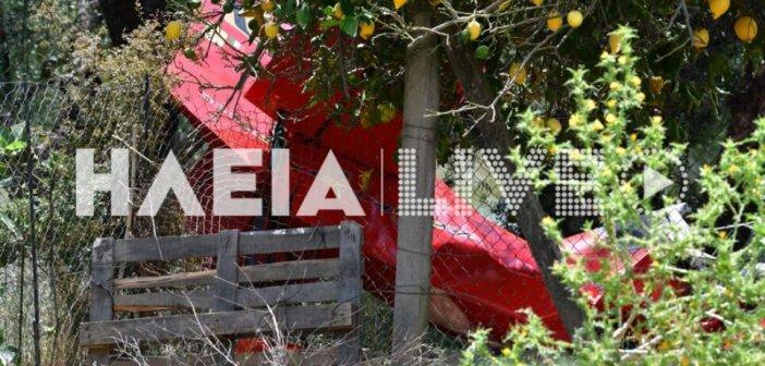 Τραγωδία στην Ηλεία: «Το αεροσκάφος είχε καρφωθεί με τη μύτη στο έδαφος – Ήταν ζωντανοί όταν φτάσαμε» – Σοκαριστικές εικόνες
