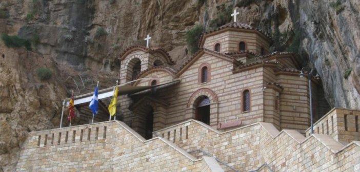 Θεία Λειτουργία και Παράκληση στην Αγία Ελεούσα στην Κλεισούρα