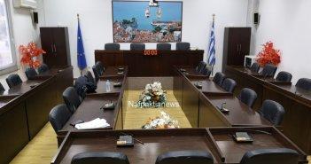 Δια περιφοράς η συνεδρίαση του δημοτικού συμβουλίου Ναυπακτίας την Τρίτη