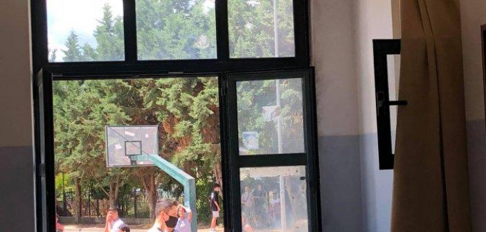 1ο ΓΕΛ Αγρινίου: Φωτιά σε αίθουσα την ώρα του διαλείμματος