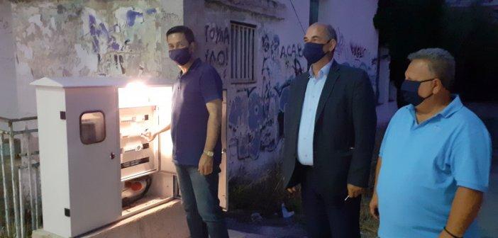 Αγρίνιο: Σύγχρονο δίκτυο ηλεκτροφωτισμού στον Άγιο Κωνσταντίνο