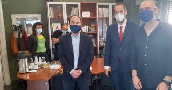 Αναβαθμίζεται ενεργειακά το Κέντρο Ψυχικής Υγείας Αγρινίου – Επίσκεψη του περιφερειάρχη