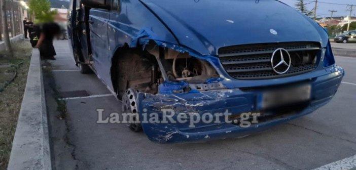 Λαμία: Μεθυσμένος οδηγός «έσπερνε» φωτιές οδηγώντας με τη ζάντα (βίντεο)