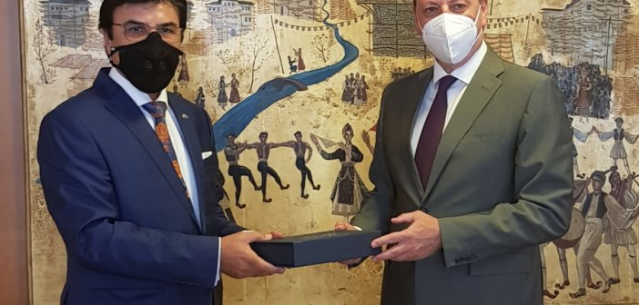 Συνάντηση Λιβανού με τον πρεσβευτή των Ηνωμένων Αραβικών Εμιράτων