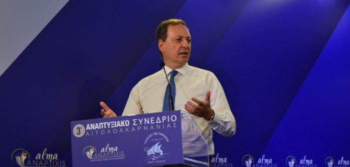 Σπ. Λιβανός στο 3ο Αναπτυξιακό Συνέδριο:  Μοχλός ανάπτυξης η ελληνική γεωργία -Στο επίκεντρο η περιφέρεια