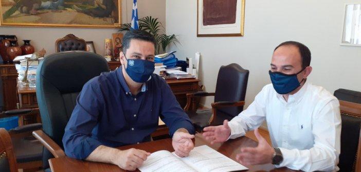 Συνάντηση Παπαναστασίου -Δημητρογιάννη: Στο επίκεντρο το Σχέδιο για την Κλιματική Αλλαγή