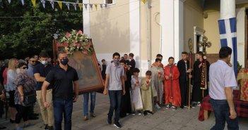 Αγρίνιο: Πανηγύρισε με λαμπρότητα ο Ιερός Ναός Αγίας Τριάδας