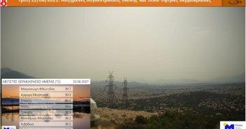 Η Γαβαλού ανάμεσα στις περιοχές με τις υψηλότερες θερμοκρασίες για σήμερα