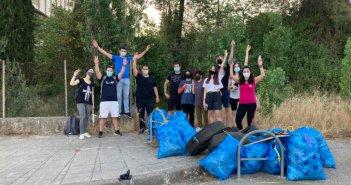 Ακόμη μια δράση στο Αγρίνιο από την ομάδα Save Your Hood – 14 εθελοντές μάζεψαν 1.500 λίτρα σκουπιδιών