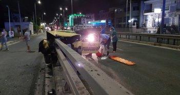 Αττική: Σοκαριστικό τροχαίο με τραυματία στη λεωφόρο Βεΐκου – Δείτε φωτογραφίες