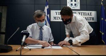 Έκτακτη σύσκεψη με Τσιόδρα και Χαρδαλιά για την μετάλλαξη Δέλτα στην Κρήτη