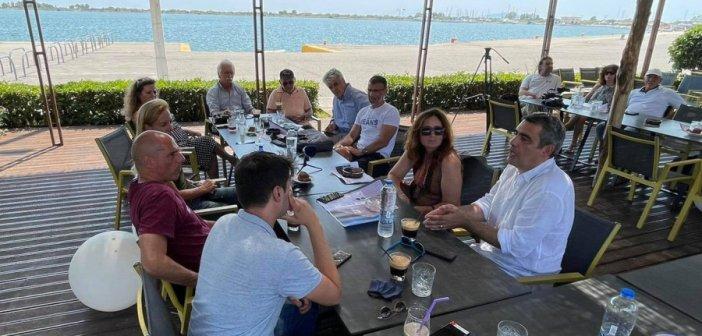 Συνάντηση Επιτροπής Αγώνα Ξηρομέρου με τον Γιάννη Βαρουφάκη